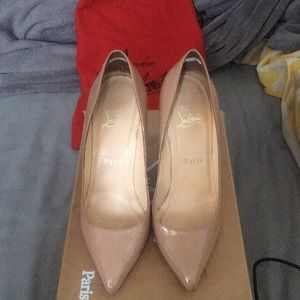 Pigalle 100 patent Calf Louboutin